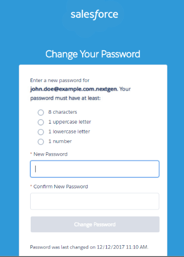 Healthfusion MediTouch NextGen Password reset