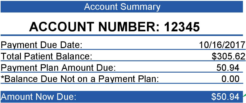 account number example1