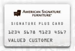 American-signature-credit-card