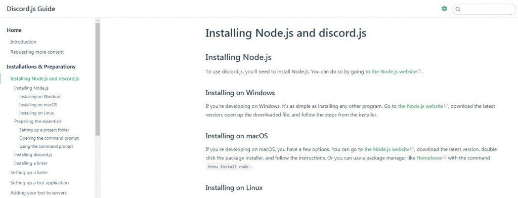 installing the node on both windows and linux